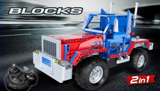 Zdalnie sterowany samochód z klocków BLOCKS TRUCK