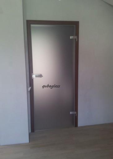 Drzwi Szklane Z Futryna Regulowana Matowe 80 Cm 7475172717 Allegro Pl