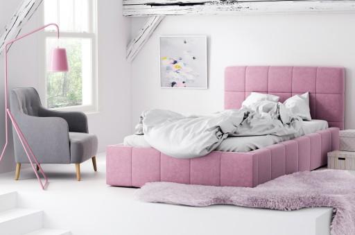 łóżko Tapicerowane Młodzieżowe Jennifer 90x200
