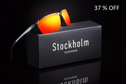 STOCKHOLM OKULARY POLARYZACYJNE MĘSKIE ETUI 5008