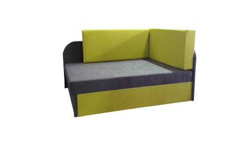 łóżko Fotel Tapczan Dziecięcy Rozkładany Narożnik 7588540605
