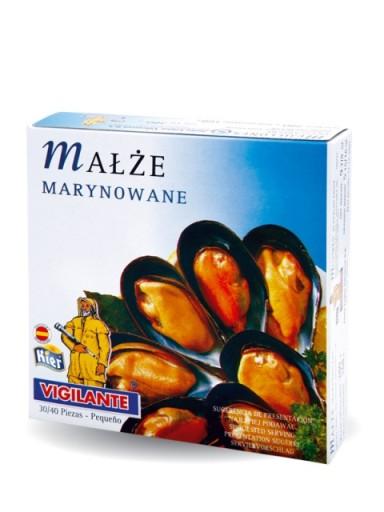 Małże marynowane - pikantne 115g Kier