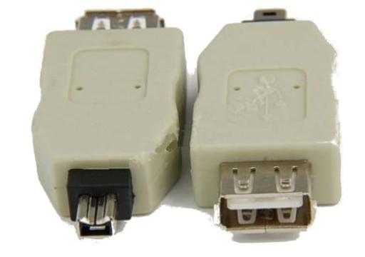 Adapter gn. USB - wt.FireWire IEEE1394 4p (4012)
