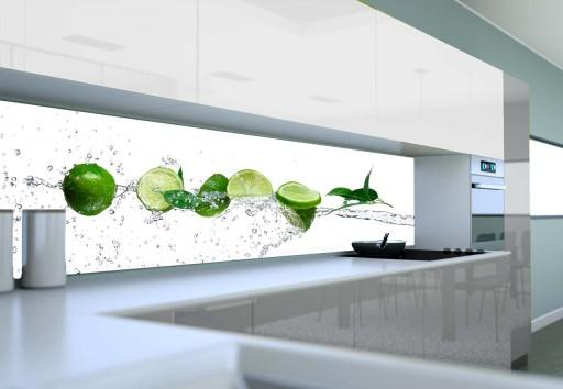 Fototapeta Do Kuchni Owoce W Wodzie 200x60 Cm