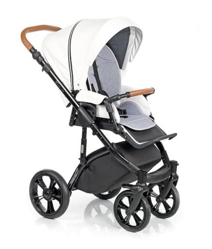 Wózek dziecięcy Roan Bass Soft Carmel White 2w1
