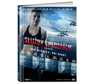 SŁUŻBY SPECJALNE ( PATRYK VEGA ) DVD+KSIĄŻKA FOLIA