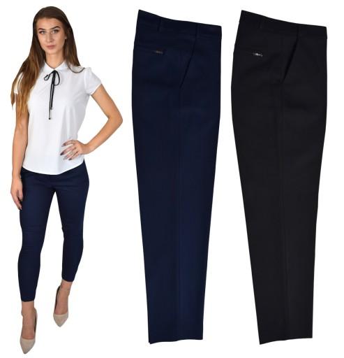 Eleganckie Spodnie Cygaretki Sigma Kolory 7 8 40 7473843171 Allegro Pl