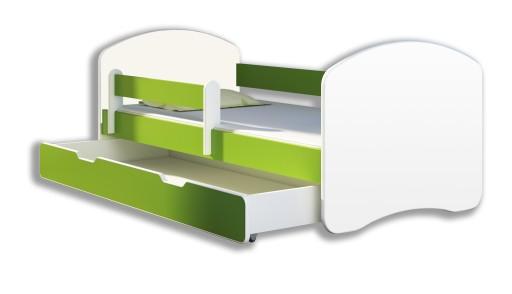 Łóżko dziecięce 140x70 szuflada materac ACMA II