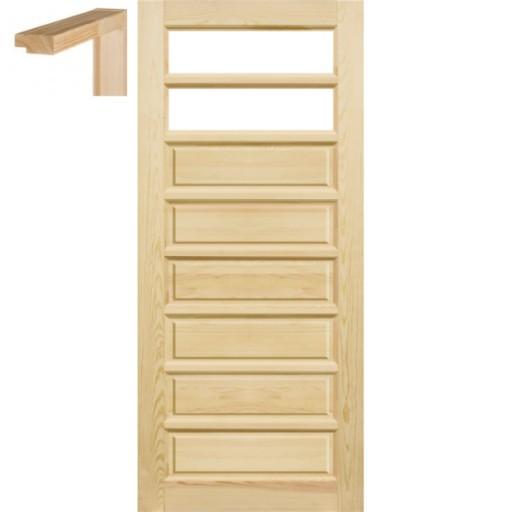 Drzwi Surowe Do łazienki 80 Ościeżnica Stolgen Td2