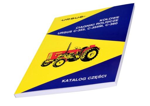 Katalog Czesci Ursus C 360 C360 C355 C355m Bialystok Allegro Pl
