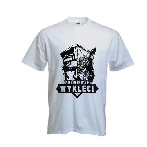 9e079e5e3b Koszulki PATRIOTYCZNE T-shirt ŻOŁNIERZE WYKLĘCI 7558297152 - Allegro.pl -  Więcej niż aukcje.