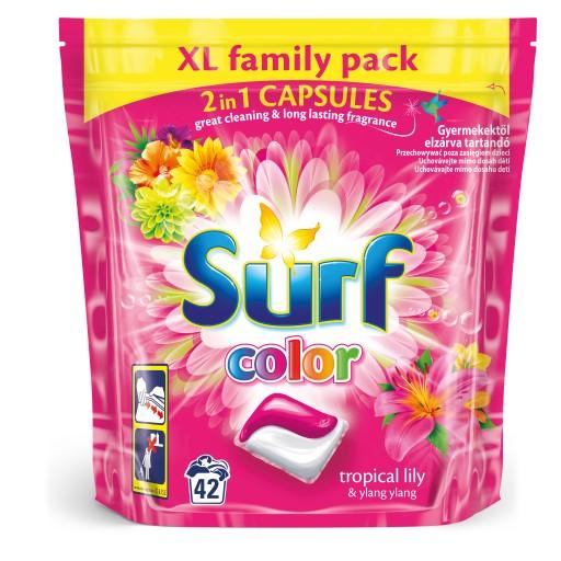 SURF 3x Kapsułki do prania 3x42p ZESTAW MIX