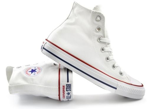 16a1362463637 Buty,Trampki CONVERSE ALL STAR 39.5 wysokie~białe 7645109068 ...