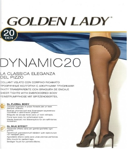 c8ece58290e GOLDEN LADY DYNAMIC 20 DEN. RAJSTOPY DAMSKIE ROZ 4 7137971578 ...