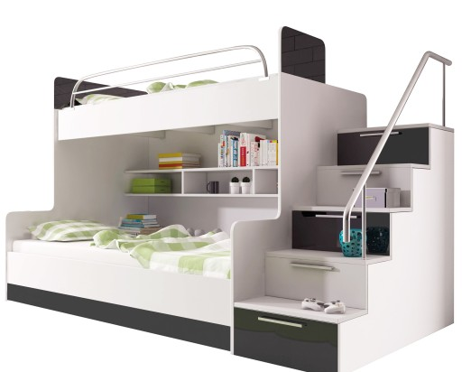 łóżko Piętrowe Raj 2 Beta Bez Stelaży I Materacy