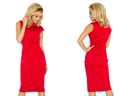 8e532815 Piękna Codzienna Sukienka DO BIURA 144-2 L 40