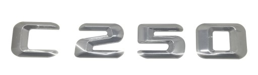 C250 emblemat napis do Mercedesa, literki na tył