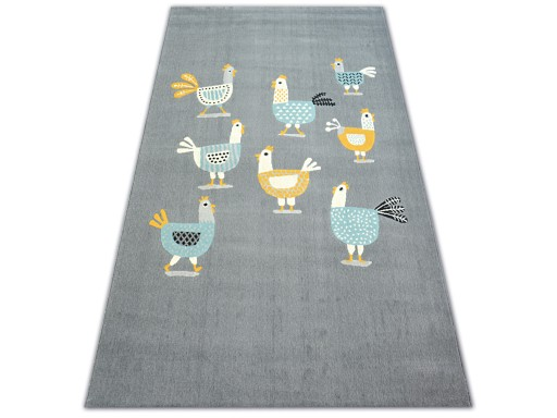 Dywany łuszczów Pastel 120x170 Kurki Szary B732