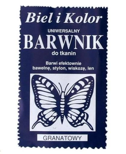 Barwnik Do Tkanin Farba Ubran 10g 31 Kolorow 6475437201 Allegro Pl