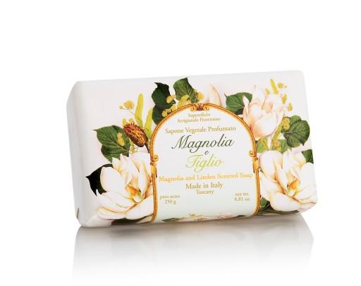 Saponificio Fiorentino Mydło 250g Magnolia Lipa