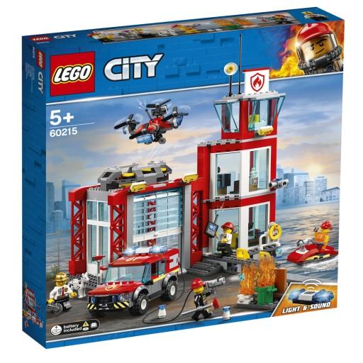 Klocki Lego City Remiza Strazacka 60215 7771499073 Allegro Pl