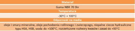 Oring uszczelka 99,5x3 70NBR