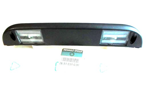 Lampa Tablicy Rejestracyjnej Renault Kangoo Ii Ory