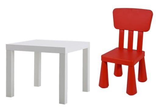 Ikea Stolik Lack Krzeselko Mammut Mamut Gratisy