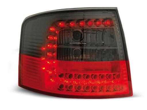 Lampy Tył Audi A6 C5 Avant Led Red Black Diodowe