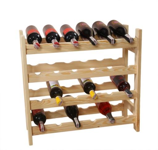 Regał Stojak Na Wino 24 Butelki 6x4 Producent 6944281944