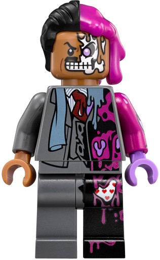 Lego The Batman Movie Dwie Twarze Two Face Z 70915 7437811225