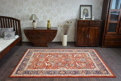 Dywany łuszczów Vera 160x235 Kwiaty Wełna At1956