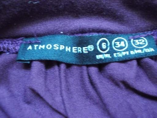 Spódnica asymetryczna bordowa midi Atmosphere ( 36