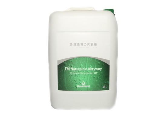 EM Naturalnie Aktywny Efektywne Mikroorganizmy 20l