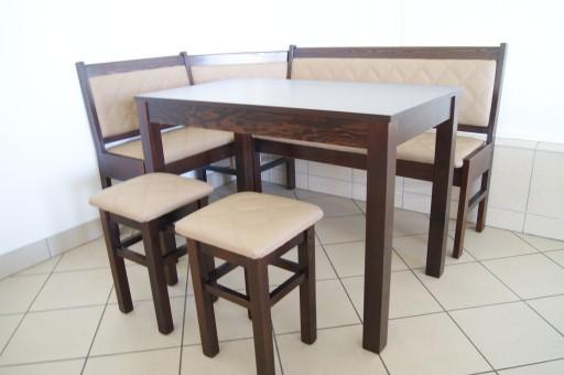 Narożnik Kuchenny N8 Stół Kuchnia Taborety Wenge 6919662914 Allegropl