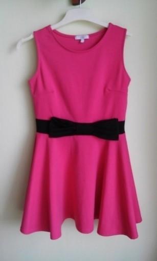 Sukienka rozkloszowana kokarda NEW LOOK ( 38 / 40