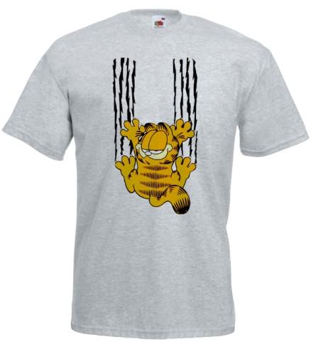 Koszulka Męska Garfield Garfild Kot M 7446080169 Allegropl