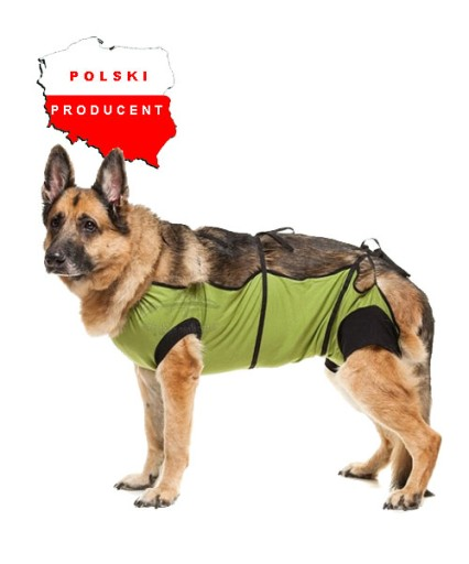 55be562bda0e6 Fartuszek, ubranko pooperacyjne dla psa XXL 6130759030 - Allegro.pl