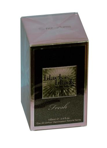 nu parfums black is black fresh