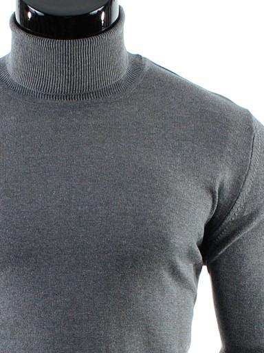 PRODUKT_PL__GOLF Sweter BAWEŁNA CD08 Szary__XXL 7634209005 Odzież Męska Swetry RR JXJDRR-4