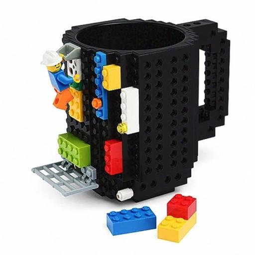 Klockowy Kubek Prezent Klocki Lego Czarny 7275869265 Allegropl