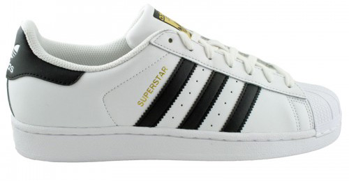 adidas super star biale