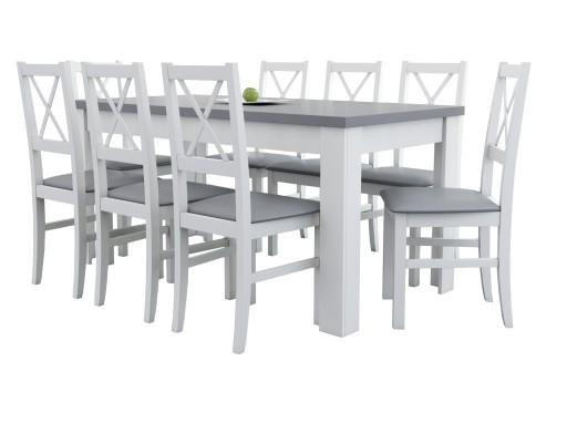 Komplet Do Dużej Nowoczesnej Kuchni Stół Krzesła