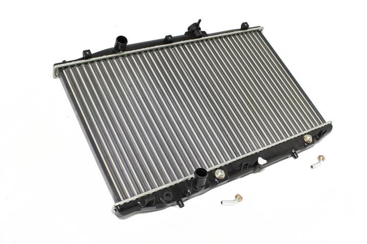 радиатор основной охлаждения двигателя honda accord vii 2.4 03- новая loro