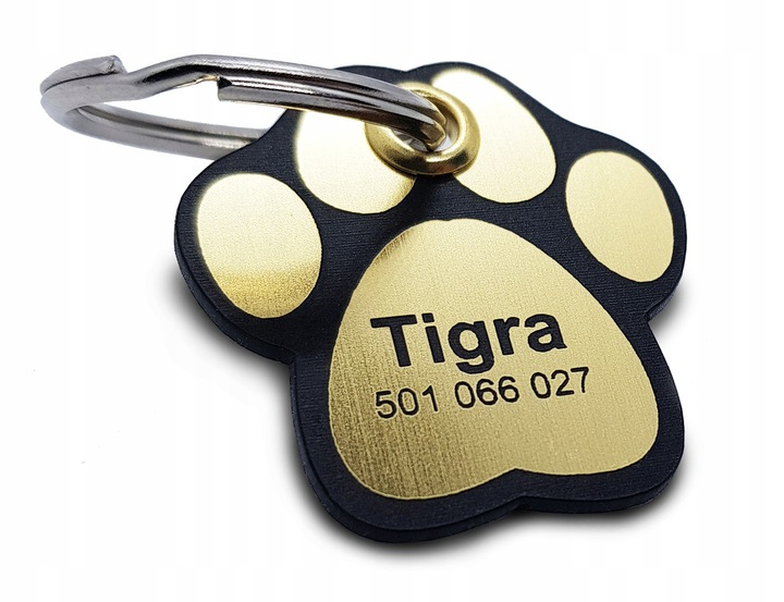ИДЕНТИФИКАТОР ADRESÓWKA для собаки или кошки гравер доставка из Польши Allegro на русском