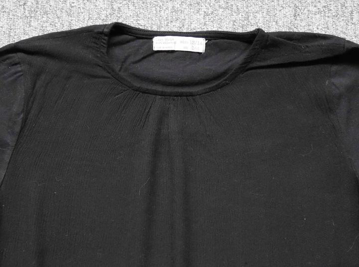 ZARA czarna bluzka j.nowa kieszenie 158/164 8436273502 Dziecięce Odzież KH WBOJKH-6