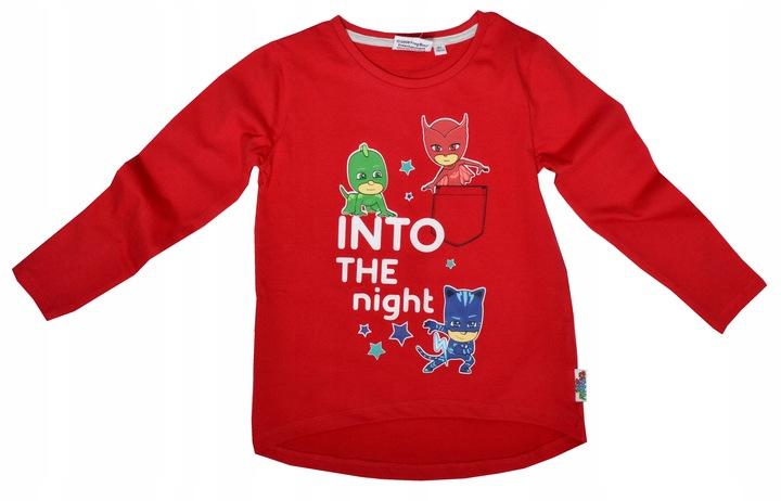 Bluzka PIDŻAMERSI 98 bluzeczka PJ masks 9666719689 Dziecięce Odzież LJ ETNKLJ-4