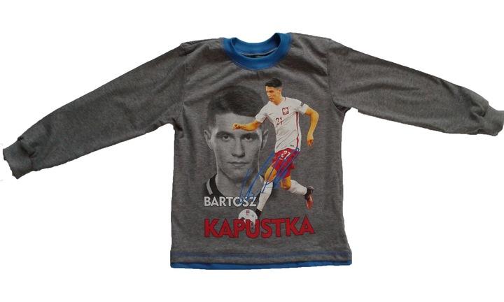 Bluzka długi rękaw T-shirt 128 Bartosz Kapustka 6983018119 Dziecięce Odzież ZC MBXSZC-3