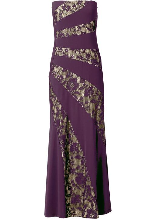 U389 DŁUGA koronkowa SUKNIA sukienka WIECZOROWA 36 7370772192 Odzież Damska Sukienki wieczorowe YK ETNMYK-3