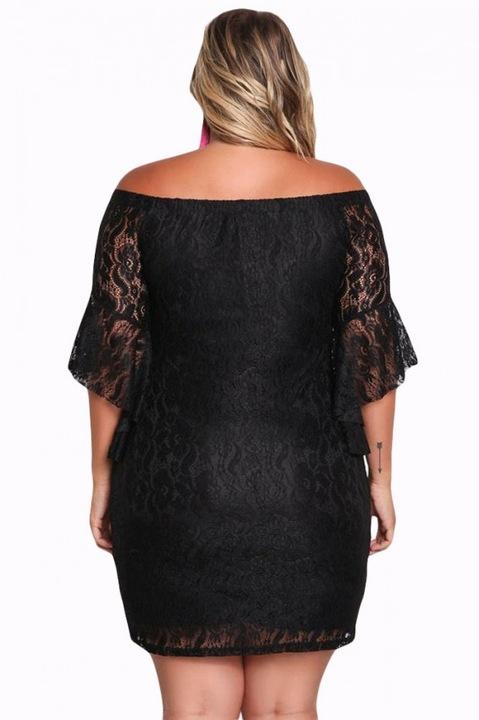 Koronkowa sukienka hiszpańska PLUS SIZE 61779 8950805232 Odzież Damska Sukienki wieczorowe YG BBEPYG-9